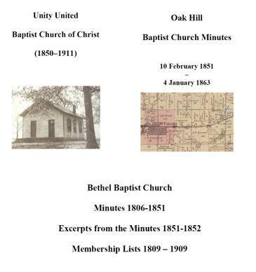 Bethel, Oak Hill, and Unity United Baptist – img