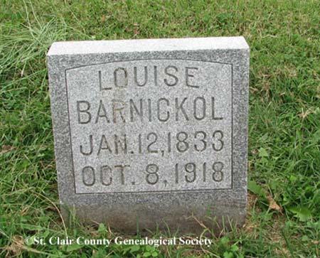 Barnickol, Louise