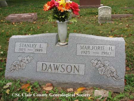 Dawson, Stanley L and Marjorie H