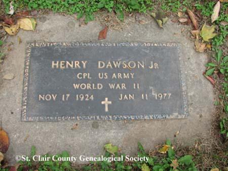 Dawson, Henry, Jr.