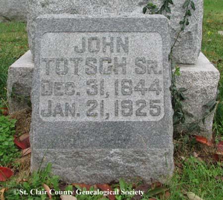 Totsch, John Sr.