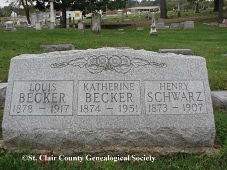Becker, Louis and Katherine also Schwarz, Henry