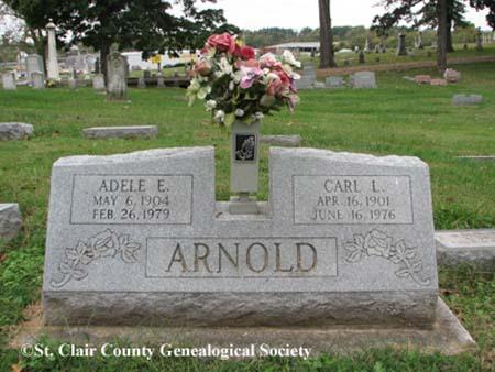 Arnold, Adele E and Carl L