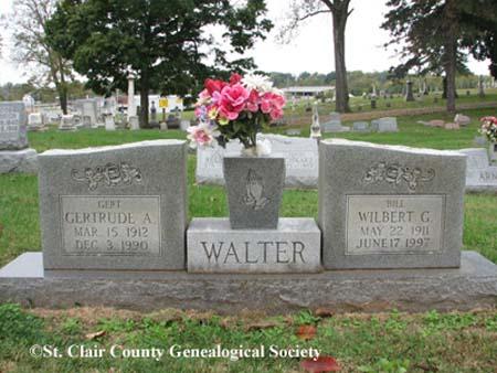 Walter, Gertrude A and Wilbert G
