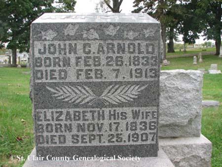 Arnold, John C and Elizabeth