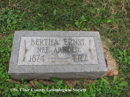 Ernst, Bertha (nee Arnold)