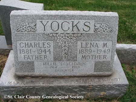 Yocks, Charles and Lena M