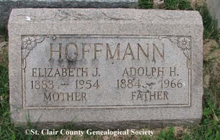 Hoffmann, Elizabeth J and Adolph H