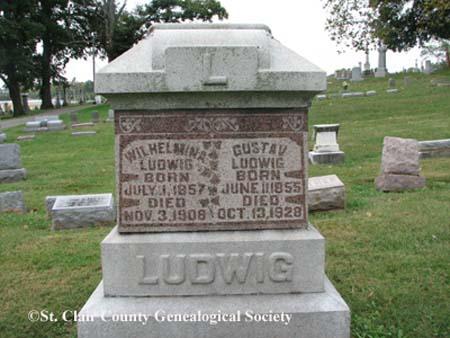 Ludwig, Wilhelmina and Gustav(e)
