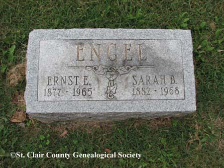 Engel, Ernst Edward and Sarah Belle