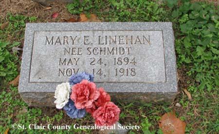 Linehan (nee Schmidt), Mary E