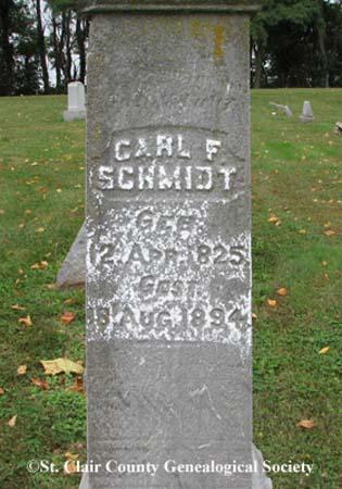 Schmidt, Carl F