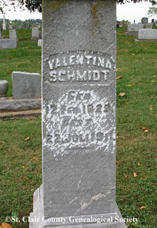 Schmidt, Valentina