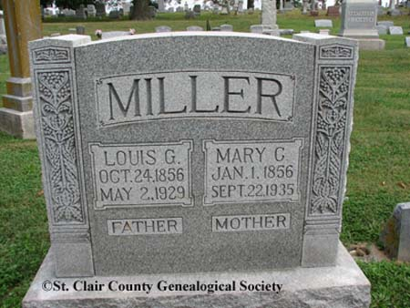 Millr, Louis G and Mary C