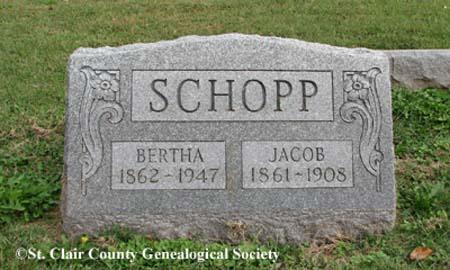 Schopp, Bertha and Jacob
