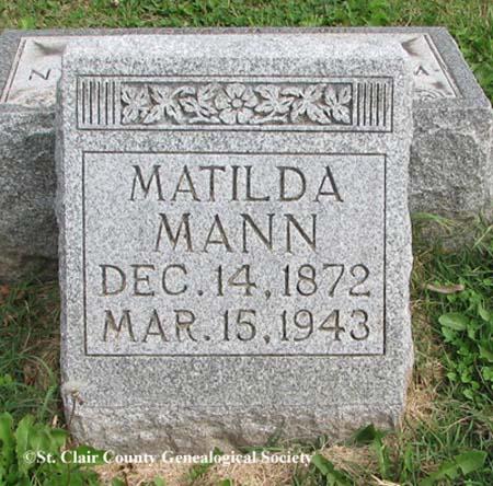 Mann, Matilda
