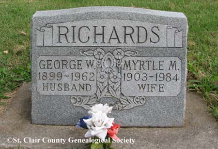 Richards, George W and Myrtle M