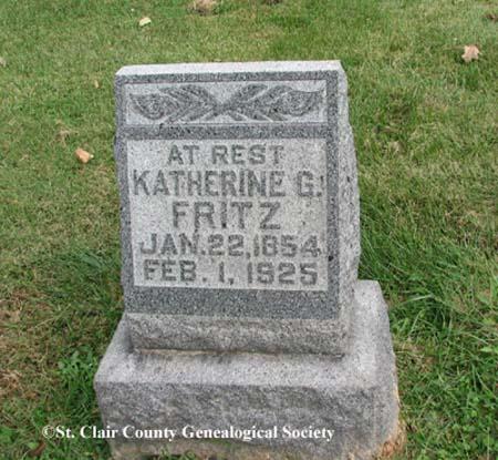 Fritz, Katherine G