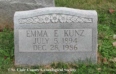 Kunz, Emma E