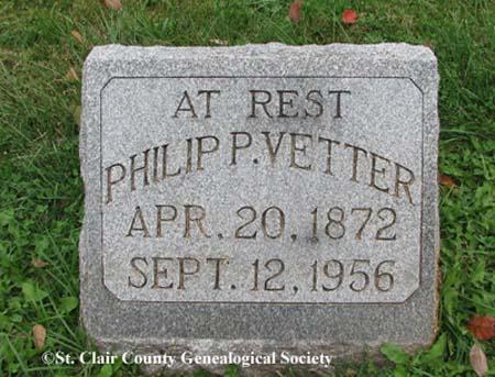 Vetter, Philip P