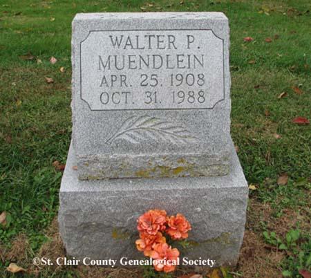 Muendlein, Walter P