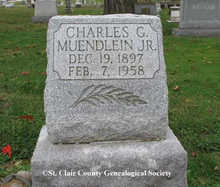 Muendlein, Charles G Jr