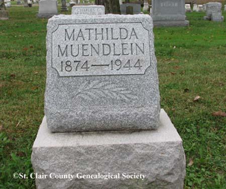 Muendlein, Mathilda