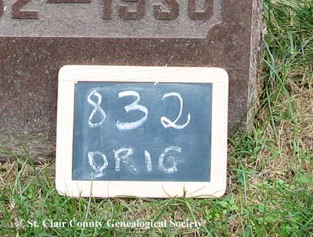 Lot marker – Orig 832