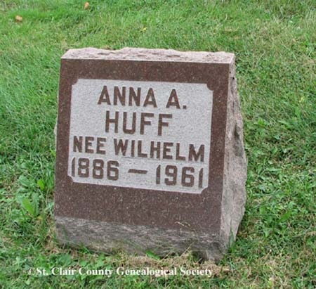 Huff, Anna A