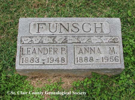 Funsch, Leander P and Anna M