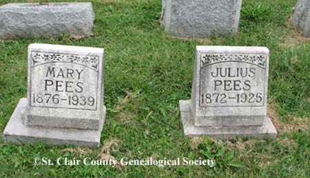Pees, Mary and Julius