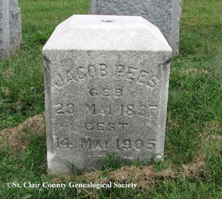 Pees, Jacob