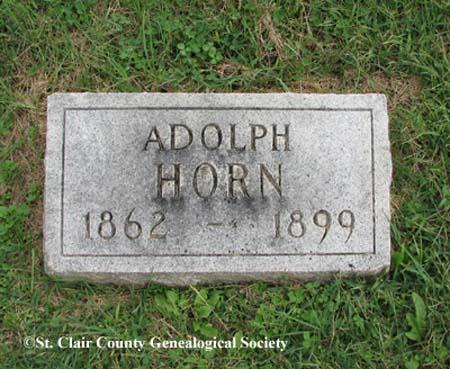 Horn, Adolph
