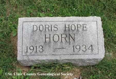 Horn, Doris Hope