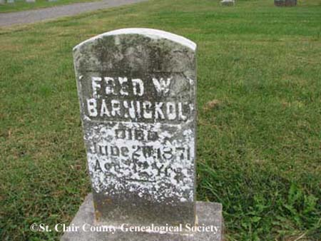Barnickol, Fred W