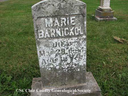 Barnickol, Marie