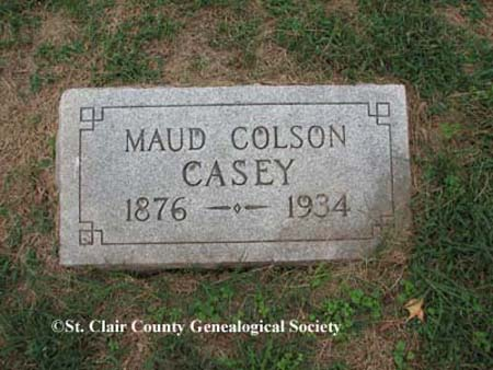 Casey, Maud Colson