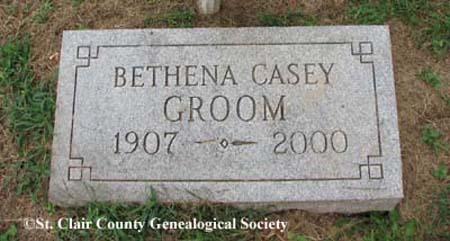 Groom, Bethena Casey