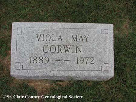 Corwin, Viola May