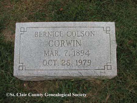 Corwin, Bernice Colson