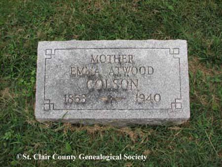 Colson, Emma Atwood