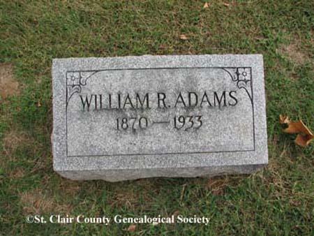 Adams, William R