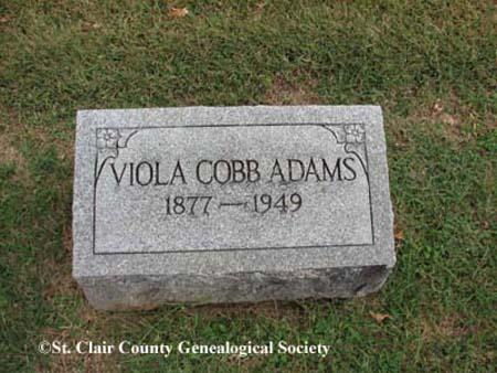 Adams, Viola Cobb