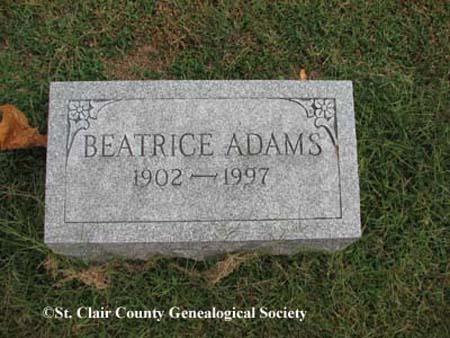 Adams, Beatrice