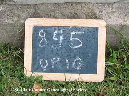 Lot marker – Original 845