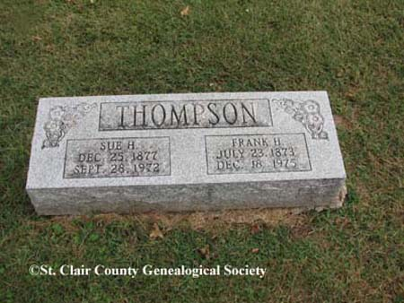 Thompson, Sue H and Frank H