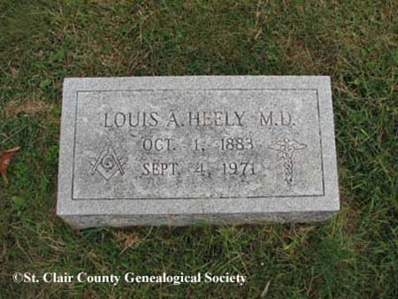 Heely, Louis A, M.D.