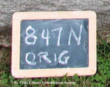 Lot marker – Original 847N
