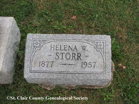 Storr, Helena W