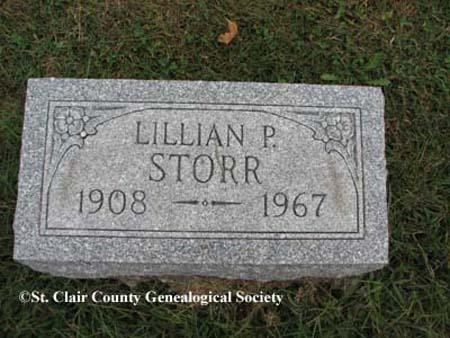 Storr, Lillian P